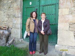 Entrada al Caserío de la familia Cenoz Gurbindo - Muzkitz - Navarra