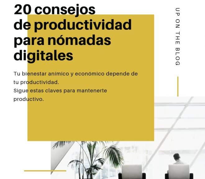 20 consejos de productividad para nómadas digitales